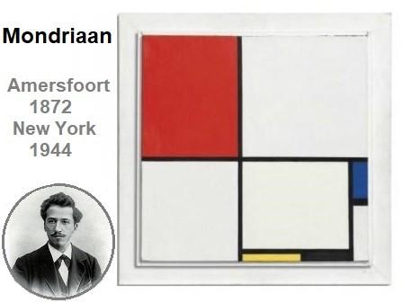 Mondrriaan modern art